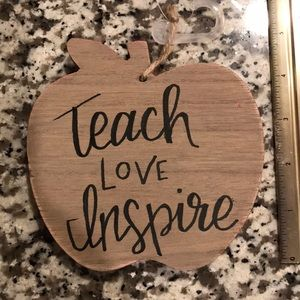 NWT PERSONALIZED Hanging Apple